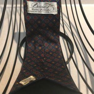 Accessories - Vintage Boivin Lue silk tie